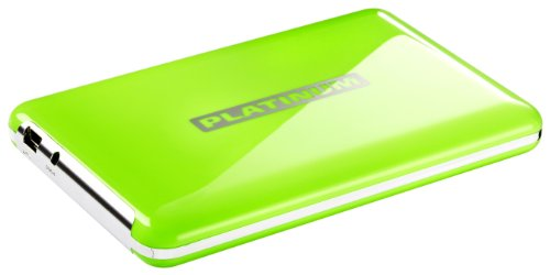 Platinum103252 Mydrive 500GB USB Portable External Hard Drive - Green