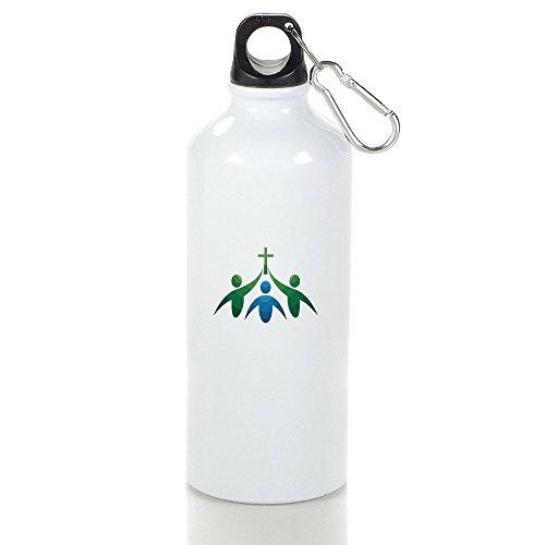 Humanism Human Beings Cool Aluminum Sports Water Bottle - 400/500/600ML 600ml
