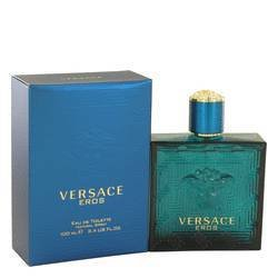 Versace Eros by Versace Eau De Toilette Spray 3.4 oz (Men)