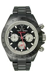 Toy Watch Ceramica Black Chronograph Unisex watch #CM04BK