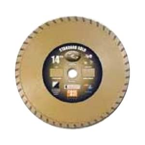 Diamond Products Core Cut 12493 8-Inch by 0.095 by 7/8-Inch Standard Gold Turbo Blade at Sears.com