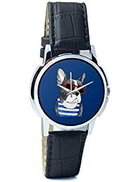 BigOwl Attractive Summer Style Dog Men's Analog Wrist Watch 2003648302-RS1-W-BK1