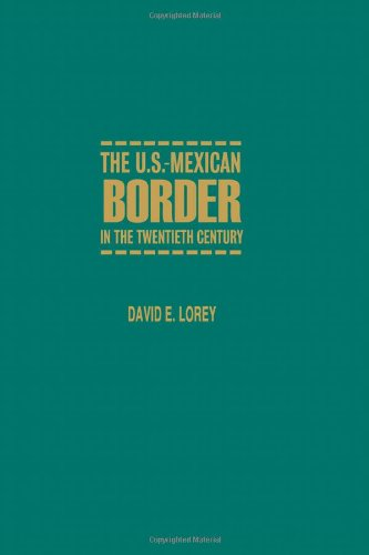 The U.S.-Mexican Border in the Twentieth Century (Latin American Silhouettes) (York Space Border compare prices)