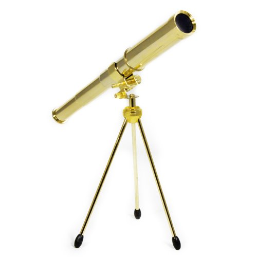 Asr Outdoor Solid Brass 30Mm Spyglass Handheld Monocular Telescope