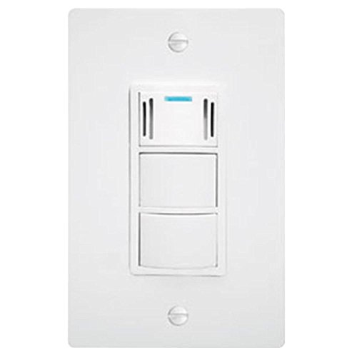 Panasonic FV-WCCS1-W WhisperControl Three-Function On/Off Switch, White (Humidity Sensing Bath Fan Switch compare prices)