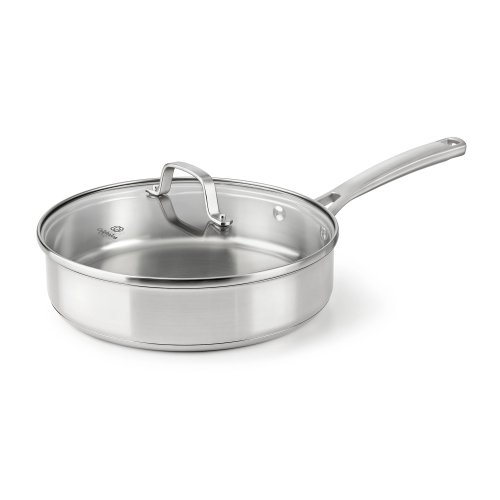 Calphalon Classic Stainless Steel Cookware, Saute Pan, 3-quart (Steel Saute Pan compare prices)