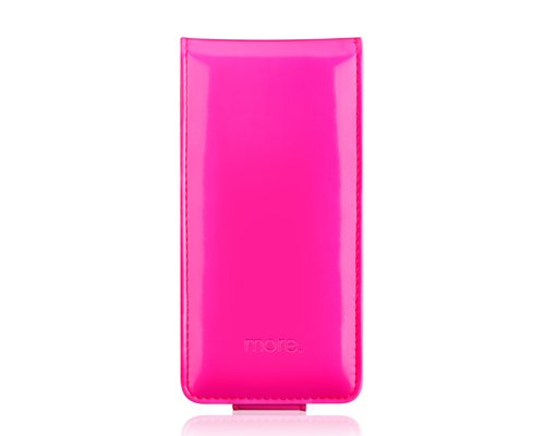 Special Sale More-Thing Shocking Series iPhone 5 and 5S Leather Case - Pink