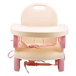 MASTELA DELUXE FOLDING BOOSTER SEAT - Pink (07331)