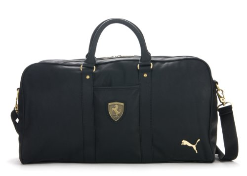 9074bd42ca11 Ghkrt Ekl  Puma Ferrari PU 2 Ways Duffle Travel Gym Bag (Black)