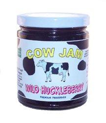 Huckleberry Jam - 12 Oz - Cow Jam
