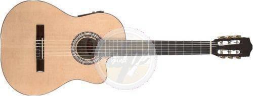 Stagg C546TCE N Guitare électro-acoustique Classique Nylon Naturelle