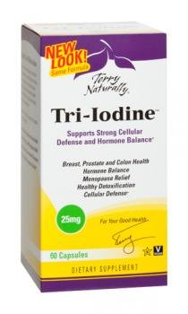 EuroPharma, Terry naturellement, Tri-iode, 25 mg