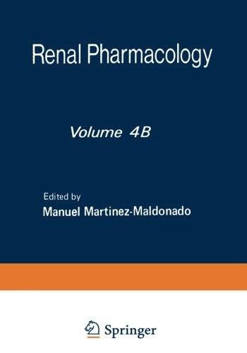 Renal Pharmacology (Volume 4)