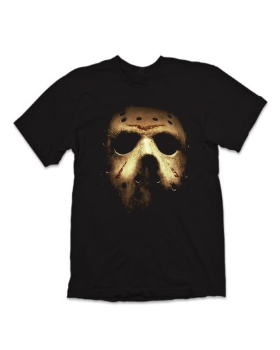 Friday the 13th Mask T-Shirt - Black