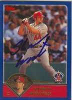 Shawn Wooten Anaheim Angels 2003 Topps Autographed Hand Signed Trading Card. by Hall+of+Fame+Memorabilia