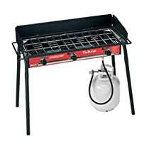 Tahoe Deluxe 3 Burner Grill Black/red