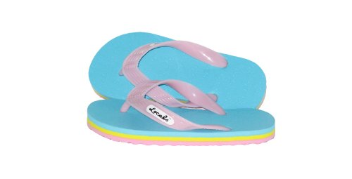 """Locals Candy Kids Slipper - Size 7.0"""" Inches front-814760"""