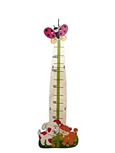 Hess - Vara de medir, diseño con perro y gato de Hess en BebeHogar.com