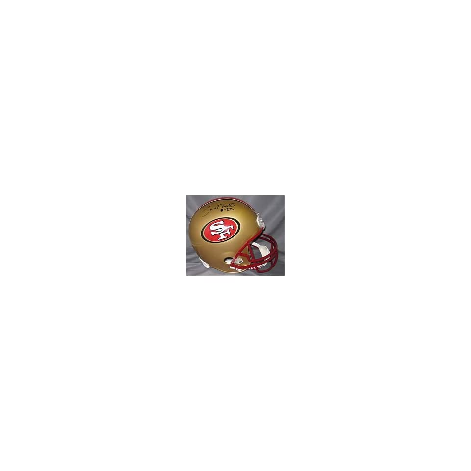 Jerry Rice Hand Signed Autographed San Francisco 49ers Official Full Size Rid