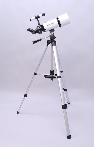 White Twinstar Astromark 80Mm Dual Tripod Refractor Telescope