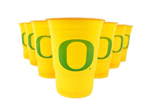 National Collegiate Athletic Association Fan Shop NCAA Beer Pong Set (Oregon Ducks)