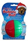 Pet Qwerks CBB3 Holiday Talking Babble Ball 2 1/8 in Small