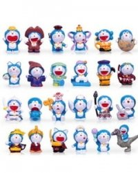 24 x Dora Doraemon Toys Series figure Display Dolls PVC 4 cm 131002fnp [parallel import goods]