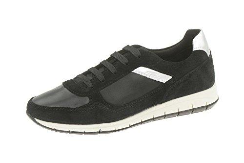 Geox, Sneaker donna, Nero (nero), 39