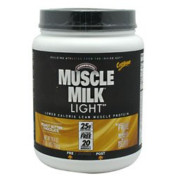 Cytosport Muscle Milk Light - Peanut Butter Chocolate, 1.65 Lb (750 G)