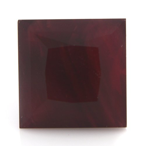 Natural Africa Red Andesine Loose Gemstone Square Cut 9*7mm 3.60cts VS Grade