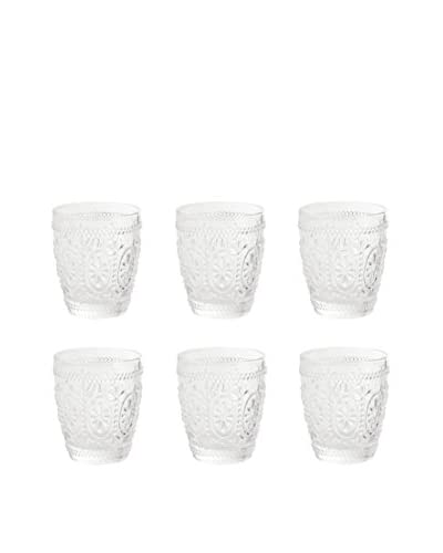 VILLA D'ESTE HOME Glas 6er Set Imperial transparent 9,4x8.20x8.20 cm