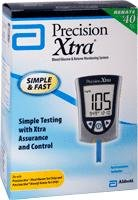 DSS Precision Xtra Blood Glucose Meter Kit, Results in 5 sec (1 Kit)