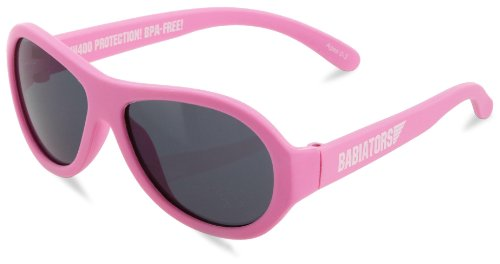 Babiators Baby-Girls Infant Princess Junior Sunglasses, Pink, Small