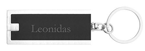 personalisierte-led-taschenlampe-mit-schlusselanhanger-mit-aufschrift-leonidas-vorname-zuname-spitzn