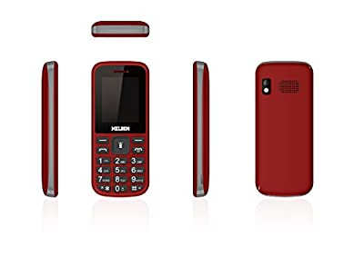 Melbon Dude 02-Red Dual Sim GSM with Multimedia Camera Mobile Phone