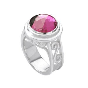Kameleon Jewelry KR2 Ring with Scroll Mount and Shank Size 6