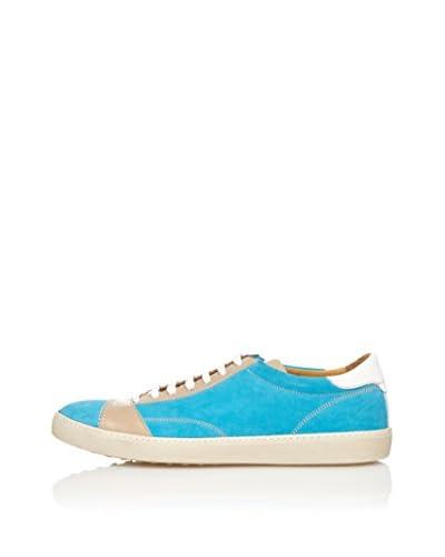 Zampiere Sneaker Stringhe [Blu/Marrone]