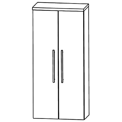 Perfect Swing Medium Cupboard (MNA816 A7) Bathroom, 60 cm