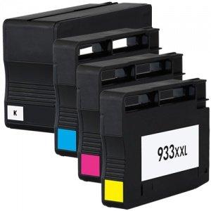 Colour Direct 4x MIT CHIP Kompatibel 932XL 933XL Druckerpatronen Ersatz für HP Vonficejet 6100 eDrucker HP Vonficejet 6600 e- alle-in-One Drucker HP Vonficejet 6700 Premium e- alle-in-One Drucker *READY TO USE*