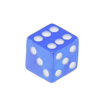 5mm Baby Blue Dice Replacement Ball