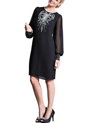 Oli Womens Tunic-Oli Premium Bow Embellished Tunic