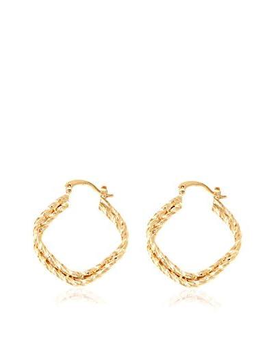 Sevil 18K Gold-Plated Geometric Drop Earrings
