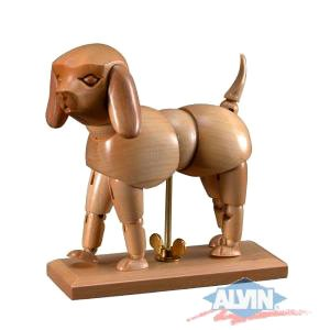 Wooden Puppy Manikin