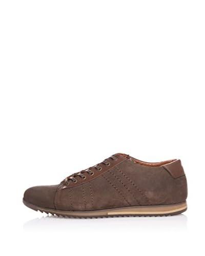 Wolfland Sneaker Stringhe [Marrone]