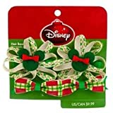 Dog Disney Christmas Clips - 2 Pair