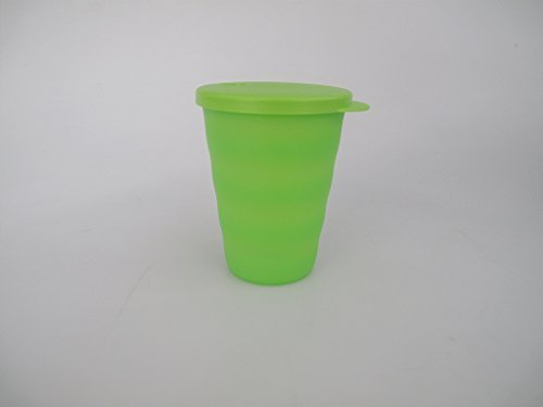 TUPPERWARE-Trinkhalmbecher-Trinkhalm-Becher-grn-330-ml