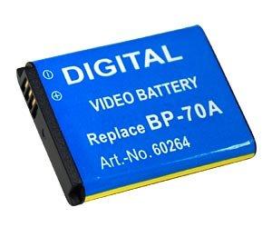 Akku SLB-70A / BP-70A für Samsung AQ100 PL120 PL170 PL20 PL200 PL80 PL90 ES65 ES70 ES71 ES73 ES75 ES80 ES81 WP10 ST60 ST93 ST95 ST96 TL105