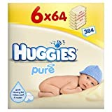 Huggies Pure Wipes 64s x 6