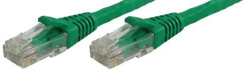Lynn Electronics OLG20CGRN-006 Optilink CAT6 6-Feet Patch Cord, Green, 2-Pack