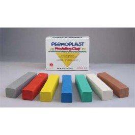 90055F X33 Gray Permoplast Clay 1lb